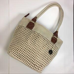 The Sak Crochet Bucket Bag OS